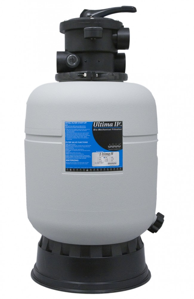 Ultima ii 2000 filter for 2000 gallon pond filter
